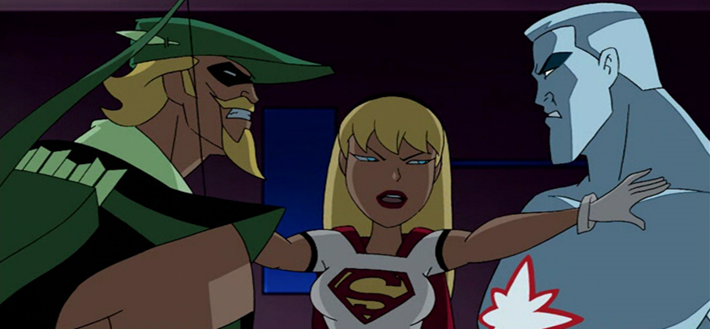 Pictures of Justice League Unlimited Supergirl - #rock-cafe