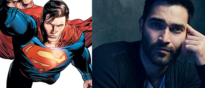 Teen Wolf's Tyler Hoechlin Cast As Superman On Supergirl