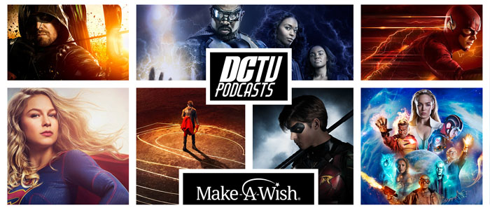 DC TV Podcasts Charity 2018: Supergirl Radio Awards – Season 3
