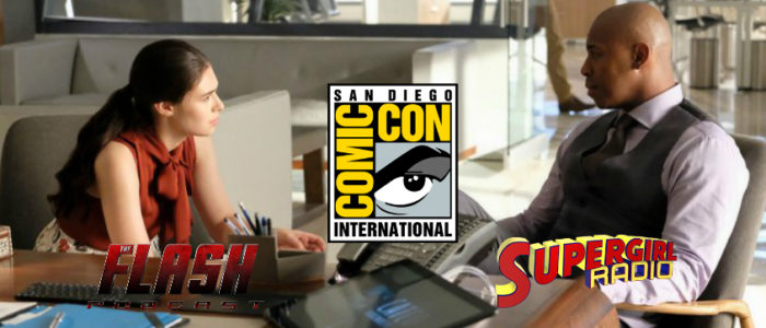 SDCC 2019 – Supergirl Interview: Mehcad Brooks & Nicole Maines On James' Exit & Nia's Family In Season 5