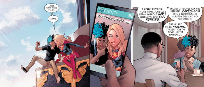 Supergirl Radio Rebirth – Supergirl #19
