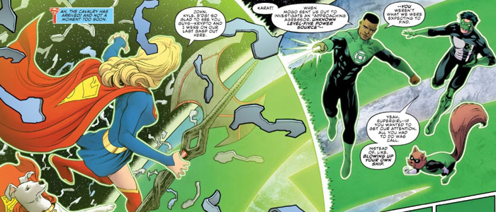 Supergirl Radio Rebirth – Supergirl #22