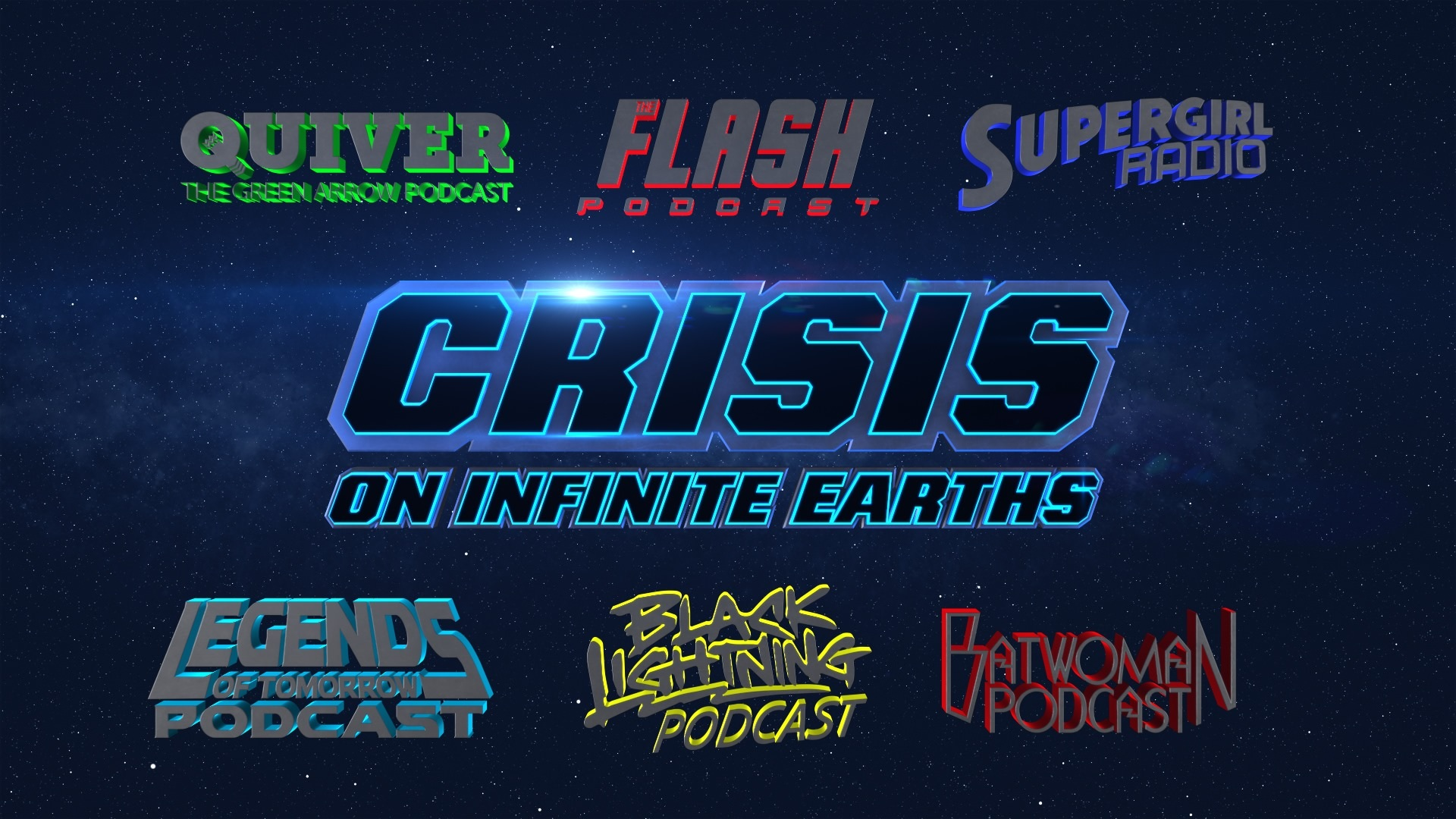 Supergirl Radio Season 6 Episode 9 Crisis On Infinite Earths Part 1 2 3 Podcast Crossover
