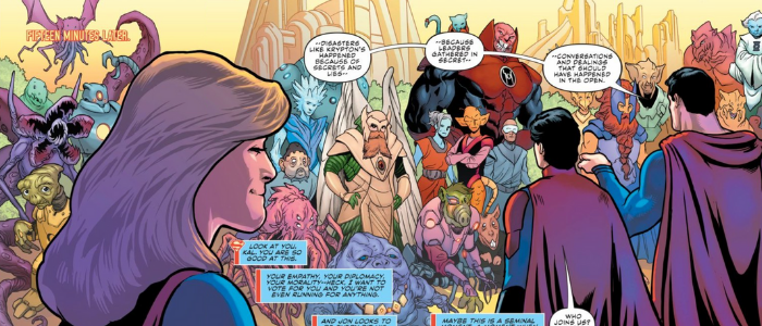 Supergirl Radio Rebirth – Supergirl #33
