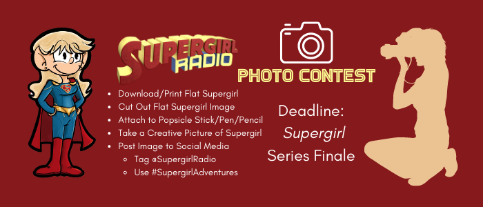 Flat Supergirl Photography Contest!